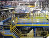 Stone wool production lines